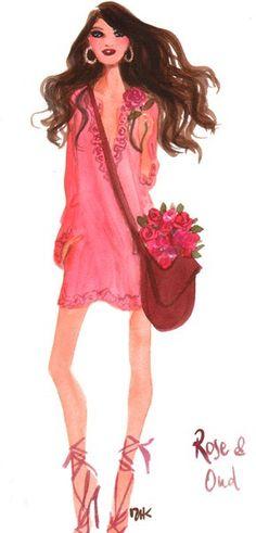 Fashion Illustration: Izak Zenou