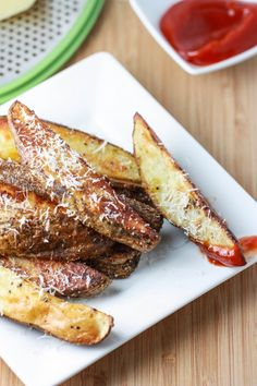 Roasted Italian- Parmesan Potatoes