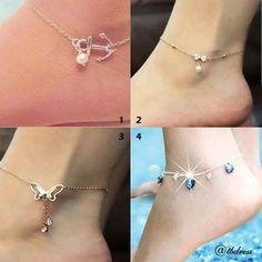 Love ankle bracelets !!