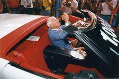 vintag car, vetteish, corvettes, zora celebr, 1000000th corvett