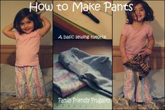 How To Sew Pants: Basic Wide Leg Pants Tutorial | Basic Sewing
