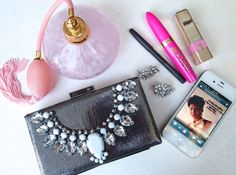 DIY: Jeweled Clutch