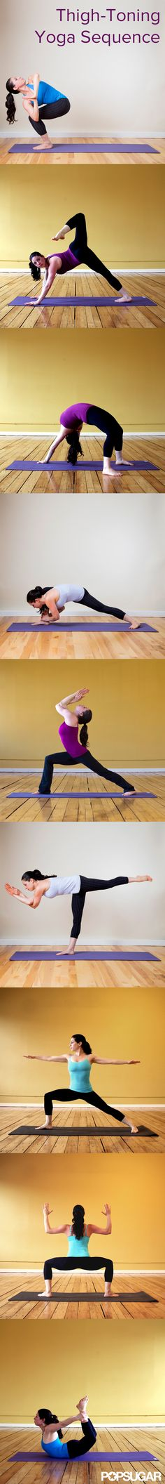 Thigh-Toning Yoga Poses