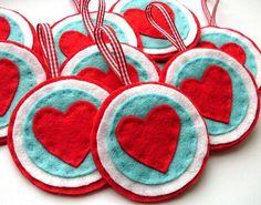 Heart Felt Ornaments