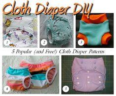 5 free cloth diaper patterns