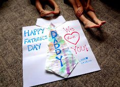 Thank Dad in a BIG way with this Gigantic Homemade Father's Day Card