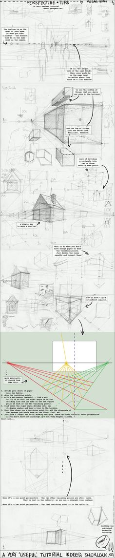 Perspective perhaps-tutorial 2 by *Megan-Uosiu on deviantART ✤    CHARACTER DESIGN REFERENCES   キャラクターデザイン   çizgi film • Find more at https://www.facebook.com/CharacterDesignReferences & http://www.pinterest.com/characterdesigh if you're looking for:#point #curvilinear #perspective #animation #how #to #draw #drawing #tutorial #lesson #balance #power #lines #sketch #gesture #anatomy #line #art #foreshortening #curves #comics #tips #cartoon    ✤