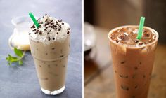 Healthiest Iced Starbucks Drinks- good to have for reference