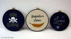 harry potter hoops