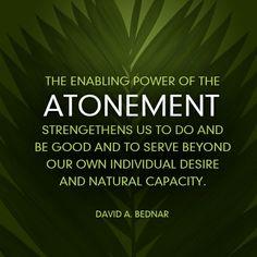David A. Bednar | Atonement Quote