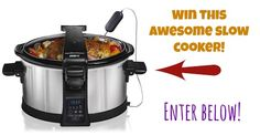 Enter to WIN a Hamilton Beach Set & Forget® Programmable 6 Quart Slow Cooker! (Ends 9/30/34)