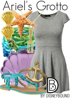 Get the look! just a gray dress and stuff