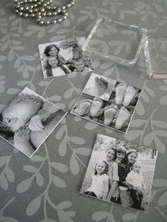 Ginger Snap Crafts: tutorial {photo pendants} tutori photo, photo pendant, pendants, craft tutorials, ginger snap, gingers, glass tiles, crafts, snap craft