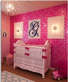 Baby girl LOVE the wall paper!!!!