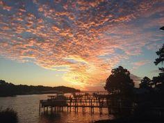 @Norton Yachts- #TODAYsunrise in Deltaville, Va Chesapeake Bay