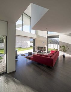 Klab Architecture have designed a contemporary family home in Athens, Greece