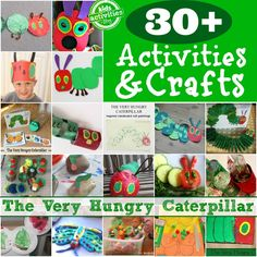 The very hungry caterpillar activities and crafts
