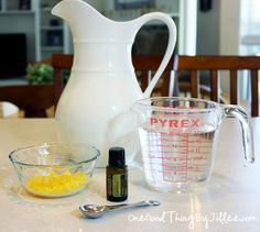 Make your own homemade dish soap!