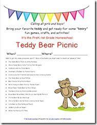 Teddy Bear Picnic Invitations as nice invitation layout