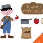 Download this free set to get a banner, a background, Johnny ... and some apple related clip art. Images are PNG and lined art is also included.Yo...