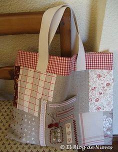 Una bolsa de costurera