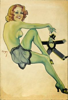 Pinupmania: Earle K. Bergey 1901 - 1952