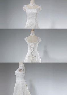 Christine/wedding gown/women clothing/bridal by pandaandshamrock, $300.00