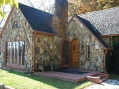 The rock house on Rocky Ridge Farm, built for Laura and Almanzo by their daughter, Rose Wilder Lane.