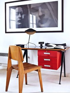 home office offices, architecture interiors, make a room, modern rooms, desks, mid century art, desk chairs, space design, workspac