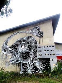 Street Art By Awer R - Milan (Italy)