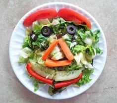 Smiley Face Salad | Recipe Treasure
