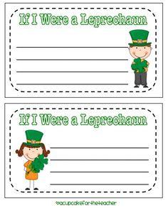 If I were a Leprechaun...