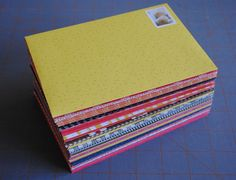 DIY envelopes - a great use for all that scrapbooking paper (that is clearly not being used for scrapbooking)