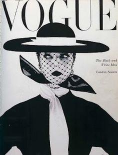 Vintage Vogue-magazine cover