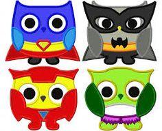super hero owls