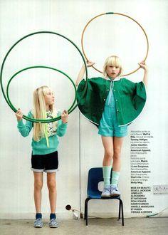 #AmericanApparel socks in MiLK magazine!