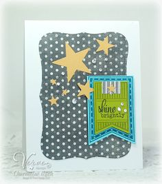 Card by Charmaine Ikach using Verve Stamps #vervestamps