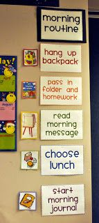 Morning meeting routine you could make this at home or at school