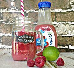 Raspberry Acai Limeade Recipe for a Girls' Night In #GirlsNightIn #spon #recipe