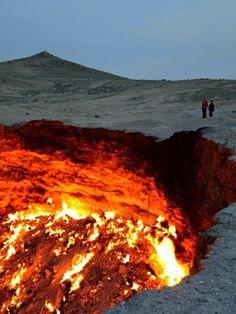 The Door to Hell, Darvaz in Turkmenistan