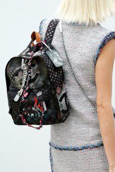 backpacks, fashion weeks, paris fashion, purs, bag, springsumm 2014, spring summer, chanel spring, spring 2014