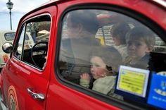 Families can all get in together  #FiatFamily    Credits: http://www.flickr.com/photos/fiat500tours/2348904241/
