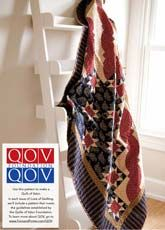 Stars & Stripes is from Patriotic Quilts Fall 2013. Quilt by Andria Grant.
