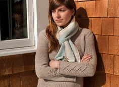 Ravelry: Katherine Pullover pattern by Michele Rose Orne