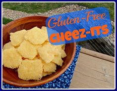 GF cheese-its