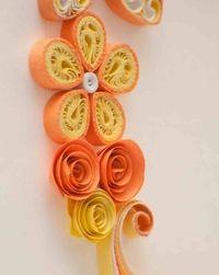 Kwiatek - quilling