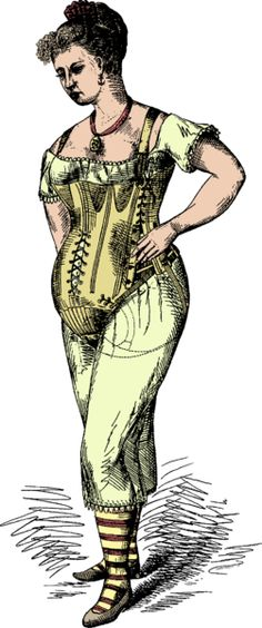 Patent application for a maternity corset, American, 1877.