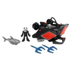 Fisher-Price Imaginext DC Super Friends Justice League Black Manta and Sub Vehicle