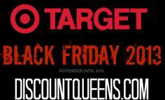 Target Black Friday Ad 2013!
