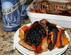 ~Blue Moon Glazed Chicken!